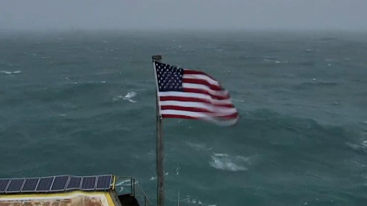 See Hurricane Florence Landing On This Offshore Live Cam Tgg