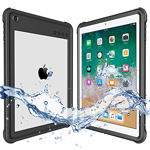 Waterproof case compatible with ShellBox / 2018 iPad 9.7 inch, iPad 6th generation ...