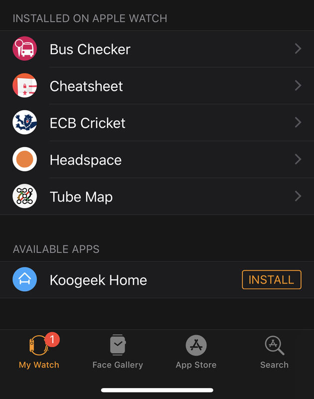 How to remove Apple Watch apps: check the app on iPhone