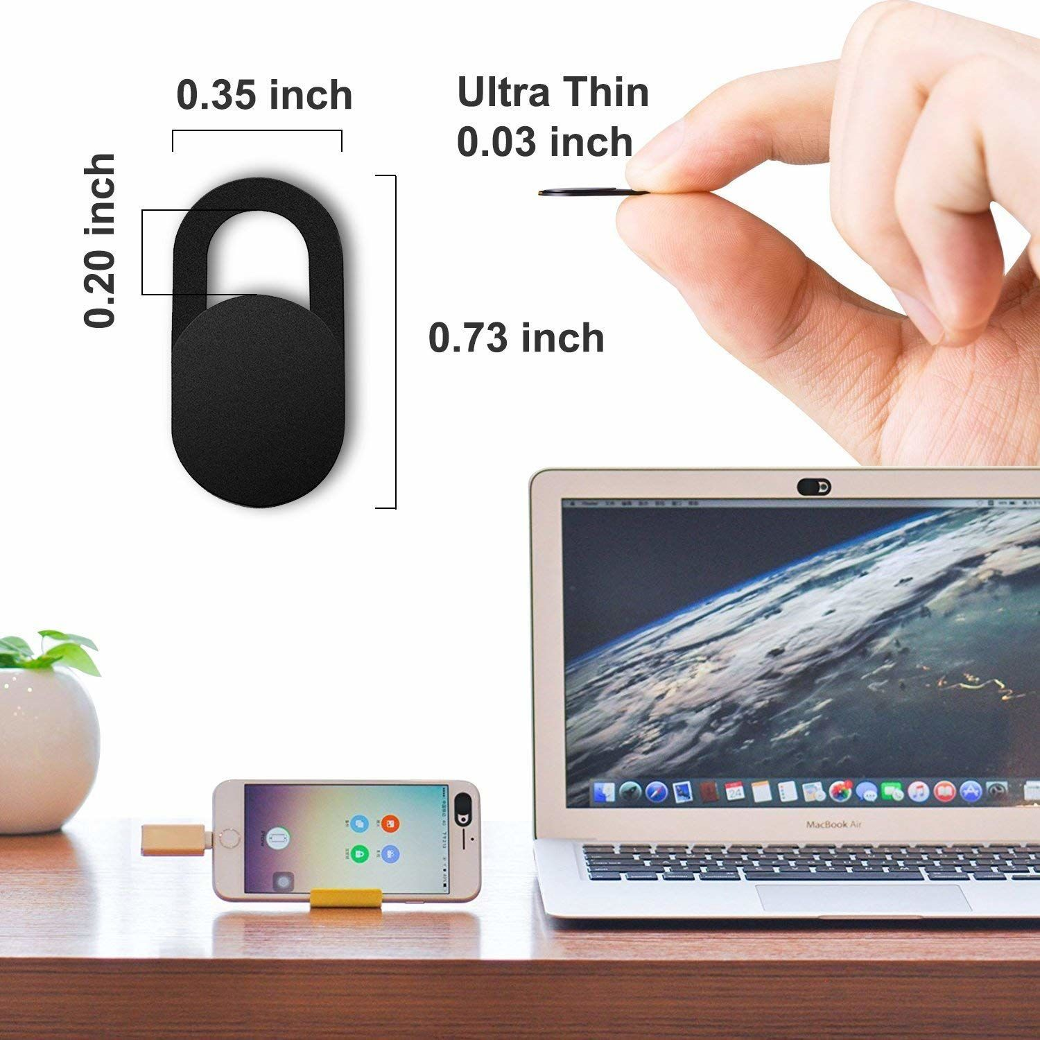 Geargo MacBook webcam cover