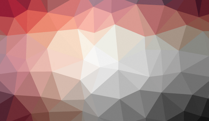 Animated low poly SVG background generator