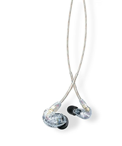 Shure SE215-CL - sound-isolating headphones with a single dynamic microDriver