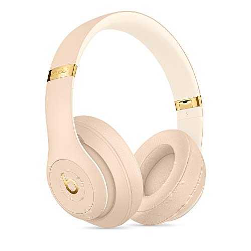 Beats S.t.u.d.io_3 Collection of Skyline wireless headphones with carrying case, 3.5 mm RemoteTalk cable and universal USB charging cable (desert sand)