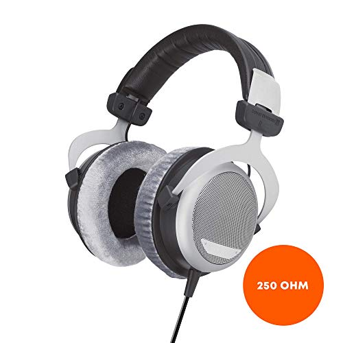 beyerdynamic DT 880 Premium Edition 250-ohm over-ear stereo headphones. High-end, wired, semi-open design for the stereo system
