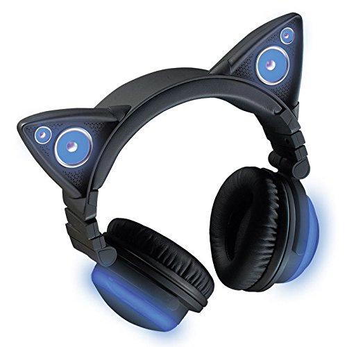 Wireless headphones for cats (color change)