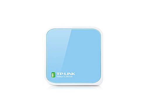 N150 TP-LINK TL-WR702N wireless router, Nano size, bridge / repeater modes