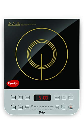 Pigeon by Stovekraft Brio 2100 watt induction cooker (silver)