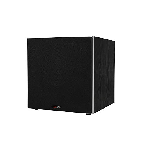 """Polk Audio 10 """"PSW10 powered subwoofer - with high current amplifier and low pass filter 