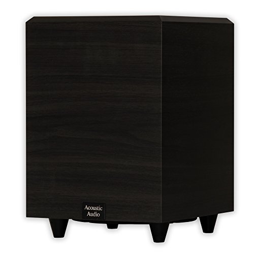 PSW-8 acoustic audio 8-inch low power 8-inch power subwoofer (black)