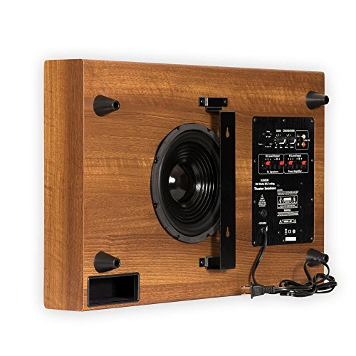 Thin Subwoofer Theater Solutions SUB8SM (Mahogany)