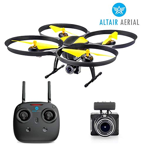 Altair 818 Hornet Beginner FPV Camera Drone Quadcopter RC w / Wide Angle ...