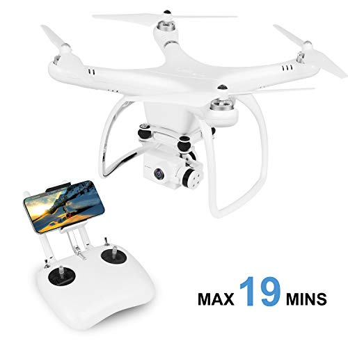UPair One Plus Drone 2.7K HD camera, Quadcopter Drone APP Transmit Live ...