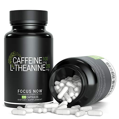 Sym Nutrition L-Theanine (200Mg), Caffeine (100Mg) Focus Now - 90 Count