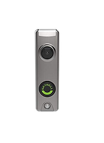Honeywell SkyBell Slim Design 1080p Wi-Fi video doorbell with silver finish