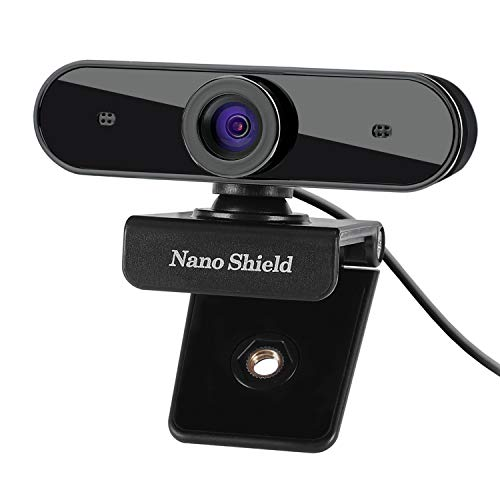 1080P HD Webcam, N910 Skype Web Camera with Wide Angle Camera with USB Microphone Plug and Play Web Cam, Widescreen Video ...