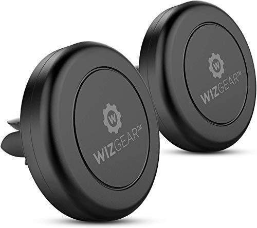 Magnetic Assembly, WizGear [2 PACK] Universal magnetic holder for car mount phone with air ventilation, for cell phones and ...