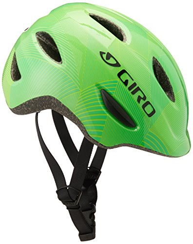 Giro Scamp Youth Bicycle Helmet Green / Lime Lines S
