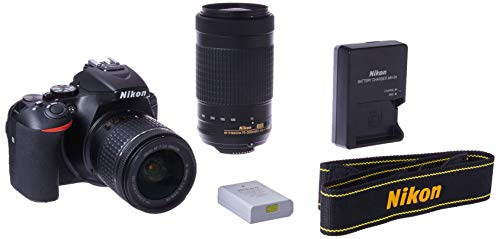Nikon D5600 DSLR with 18-55mm f / 3.5-5.6G VR and 70-300mm f / 4.5-6.3G ED
