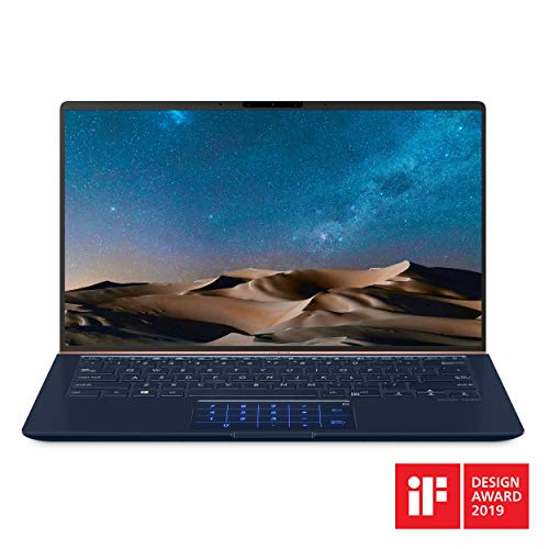 """ASUS ZenBook 14 - Ultra-thin laptop with a 14-inch Full HD 14 """"NanoEdge frame, 8th generation ..."""