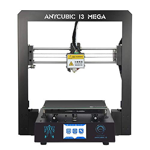 ANYCUBIC MEGA I3 3D printer with patented heat bed and 1 kg PLA free filament, works with PLA / hips / wood etc