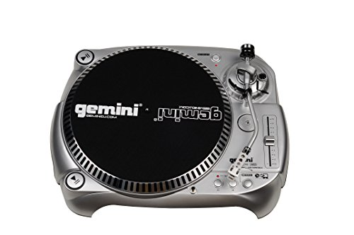 Gemini TT-1100USB Professional audio manual with belt drive Classic USB Connectivity DJ turntable with adjustable counterweight and anti-skid controls