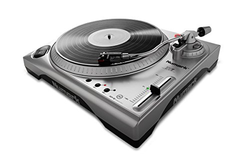"Numark TTUSB | 33/3 and 45 RPM turntable with USB audio interface, 1/8 ""input, RCA output"