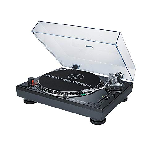 Audio-Technica AT-LP120BK-USB professional turntable (USB and analog), black