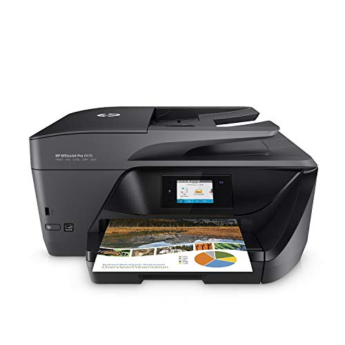 HP OfficeJet Pro 6978 Wireless Multifunction Printer, HP Instant Ink and Amazon Stroke Replacement (T0F29A)