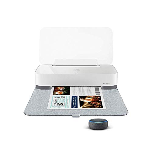 HP Tango X smart home printer with Echo Dot charcoal (3rd generation)