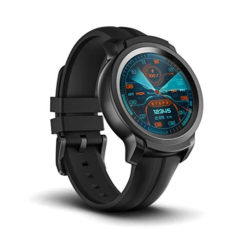 Ticwatch E2, Waterproof Smartwatch with 24-hour heart rate monitor, Wear OS by Google, compatible with Android and iOS