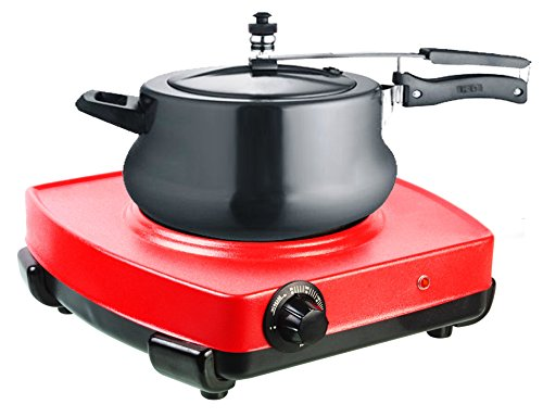 Vintage VintageWorld's Hot Plate G Coil Red Induction Cook Top 1500 Watts with Indicator (Suitable for all utensils)