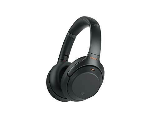 Sony NWH1000XM3: Bluetooth wireless over-the-ear headphones with Mic and Alexa voice control - Industry-leading active noise cancellation - Black