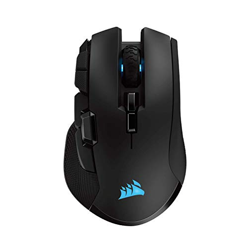 CORSAIR IRONCLAW RGB wireless - FPS and MOBA gaming mouse - 18,000 DPI optical sensor - Sub-1 ms SLIPSTREAM Wireless