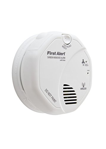First alert CO511B - Carbon monoxide detector without interconnection with voice alarm