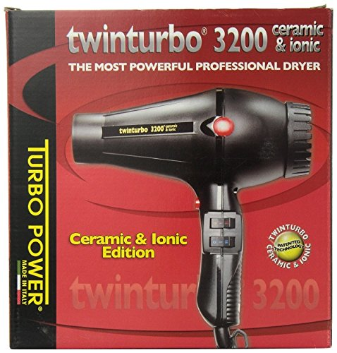 Professional Hair Dryer Ionic Twin 3200 in Ceramic and