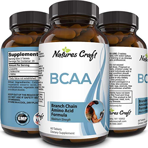 Best BCAA supplement - Amazing bodybuilding and pre-workout results - Pure branched chain amino acids - L-leucine + food ...