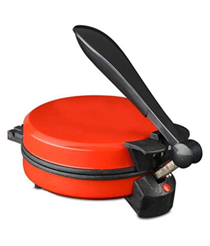Roti maker with 900W nonstick coating (silver) (red)