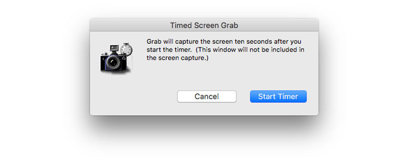 How to take a screenshot on Mac: Timed screen capture