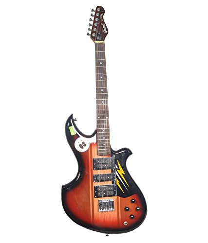 Givson Rockstar-1000 electric guitar with padded carrying case