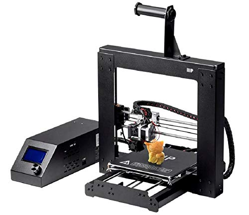 Monoprice Maker Select 3D printer v2 with large heated mounting plate (200 x 200 x180 mm) + Free sample PLA filament and MicroSD card pre-loaded with 3D models for printing.