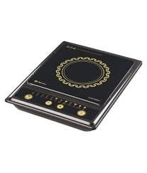 Splendid Bajaj 1200 Watt Induction Cooktop Tact Switch, Multicolor