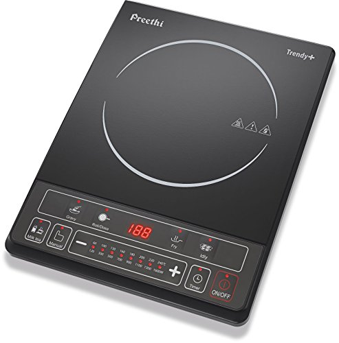 Preethi Trendy Plus 116 1600 Watt Induction Cooktop (Black)