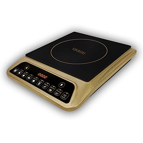 ORBON 2000 watts PIC 20 Exclusive golden induction cooker push button / induction cookers / electric kitchen heater / radiant induction cooker / hot plate / electric cooker ...
