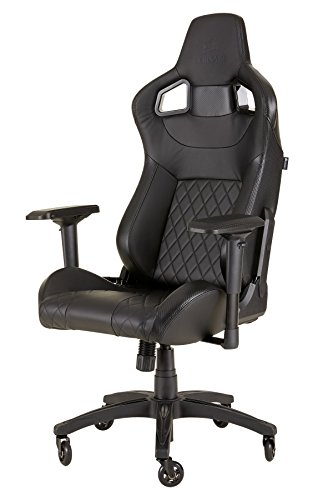 Racing design for CORSAIR CF-9010011 WW T1 game chair, black