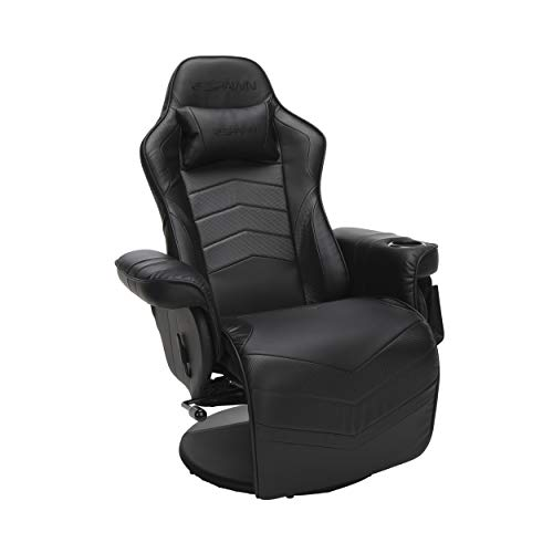 Recliner for racing games RESPAWN-900, reclining chair for games, in black (RSP-900-BLK)