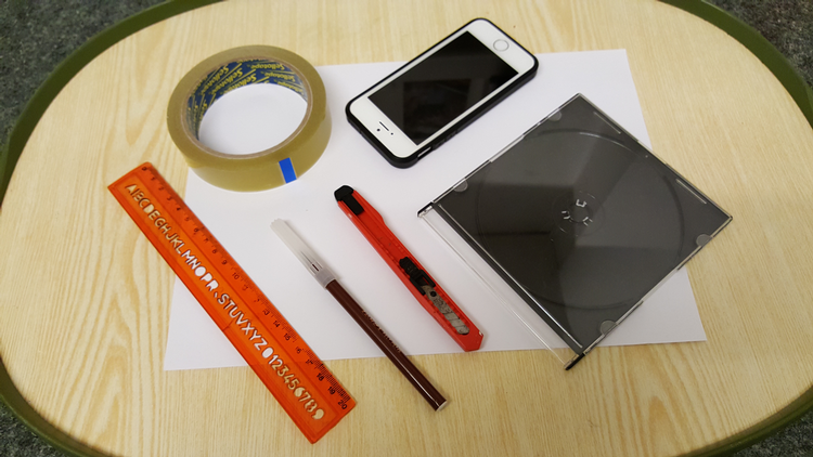 how to make a hologram projector for iPhone