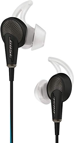 Bose QuietComfort 20 acoustic noise canceling headphones, Apple devices, black