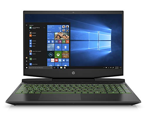 HP Pavilion Gaming 15-inch Notebook, Intel Core i5-9300H, NVIDIA GeForce GTX 1650, 12 GB RAM, 512 GB SSD, Windows 10 (15-dk0042nr, black)