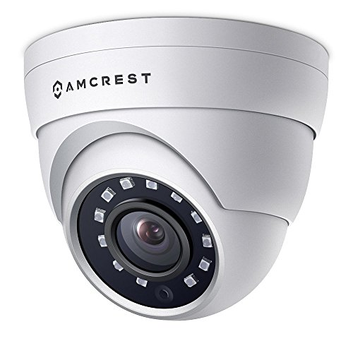 Amcrest 4MP UltraHD POE security camera, external dome for eyeball with IP camera - IP67 weatherproof, 98ft night vision, ...