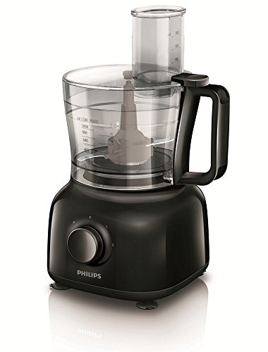 Philips Daily Collection HR7629 / 90 Mini 650 watt food processor (black)